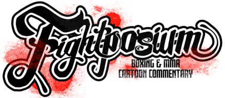 Fightposium Cartoon Commentary for Boxing and MMA
