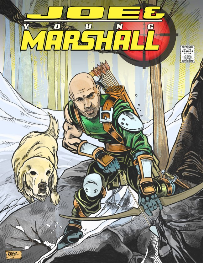 Joe Rogan and his trusty sidekick, Young Marshall