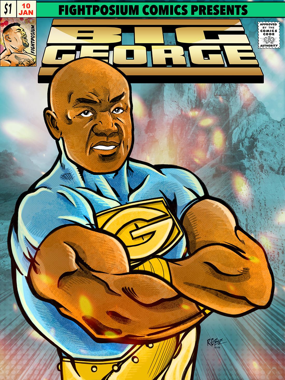 Big George Foreman! Fightposium's Hero Legends